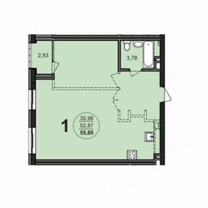 Планировки квартир в ЖК Richmond Residence в Новосибирске